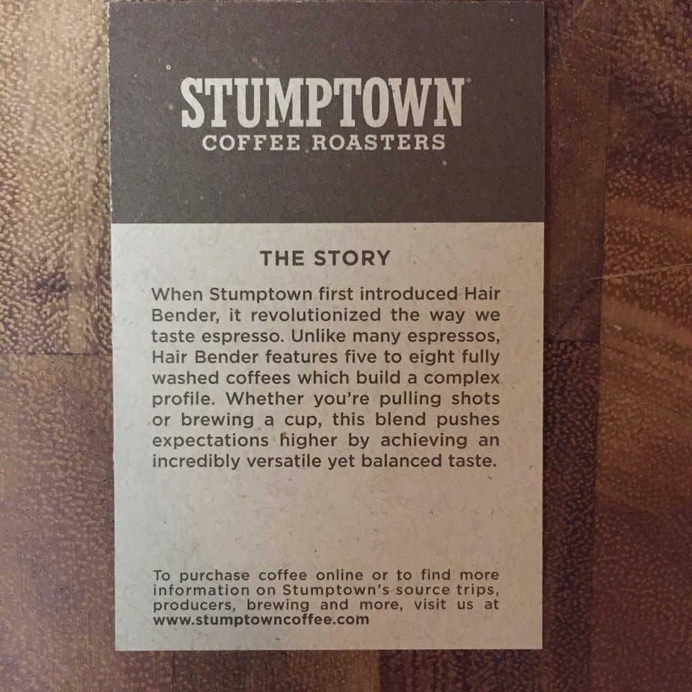 Stumptown Hairbender