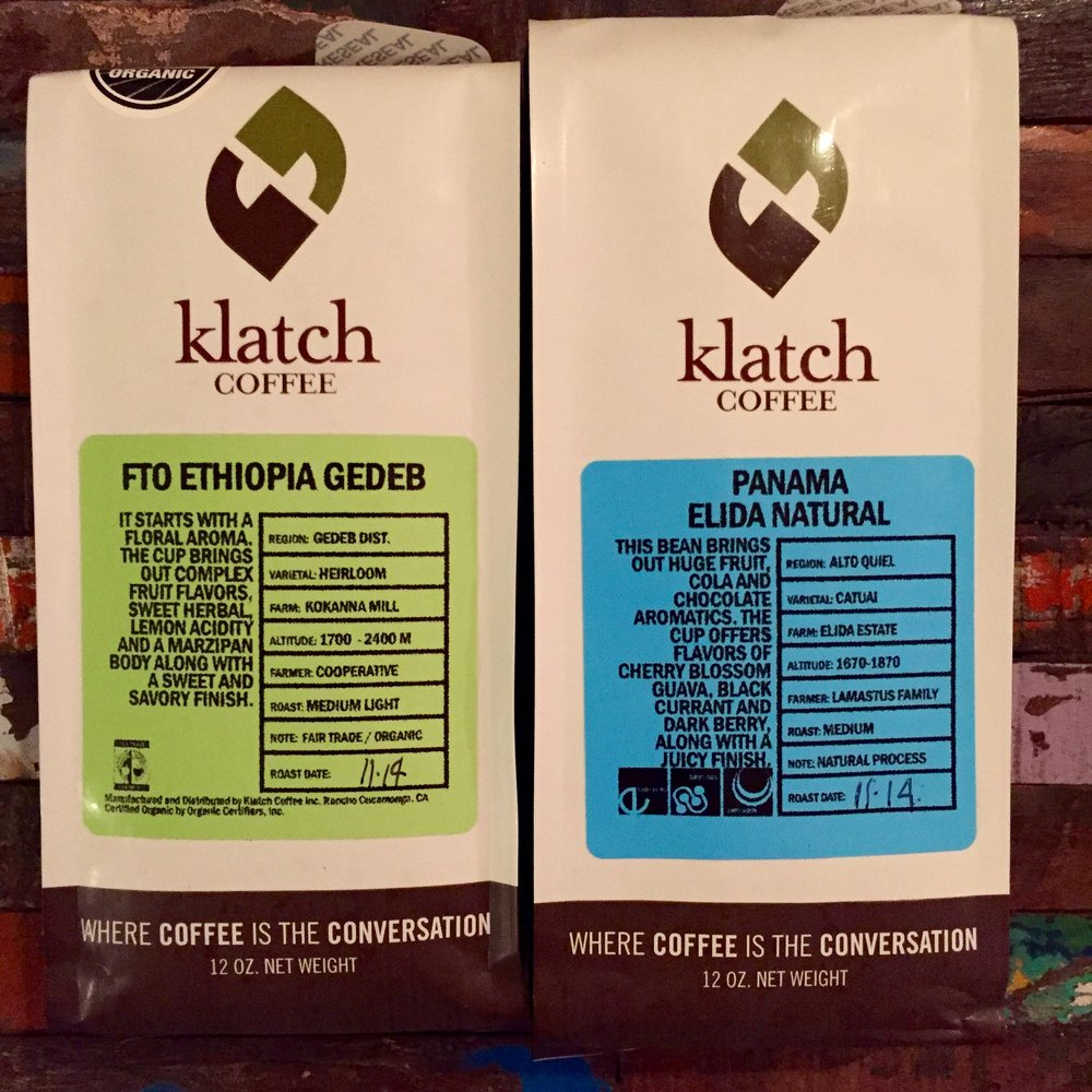 Ethiopia Gedeb from Klatch Coffee