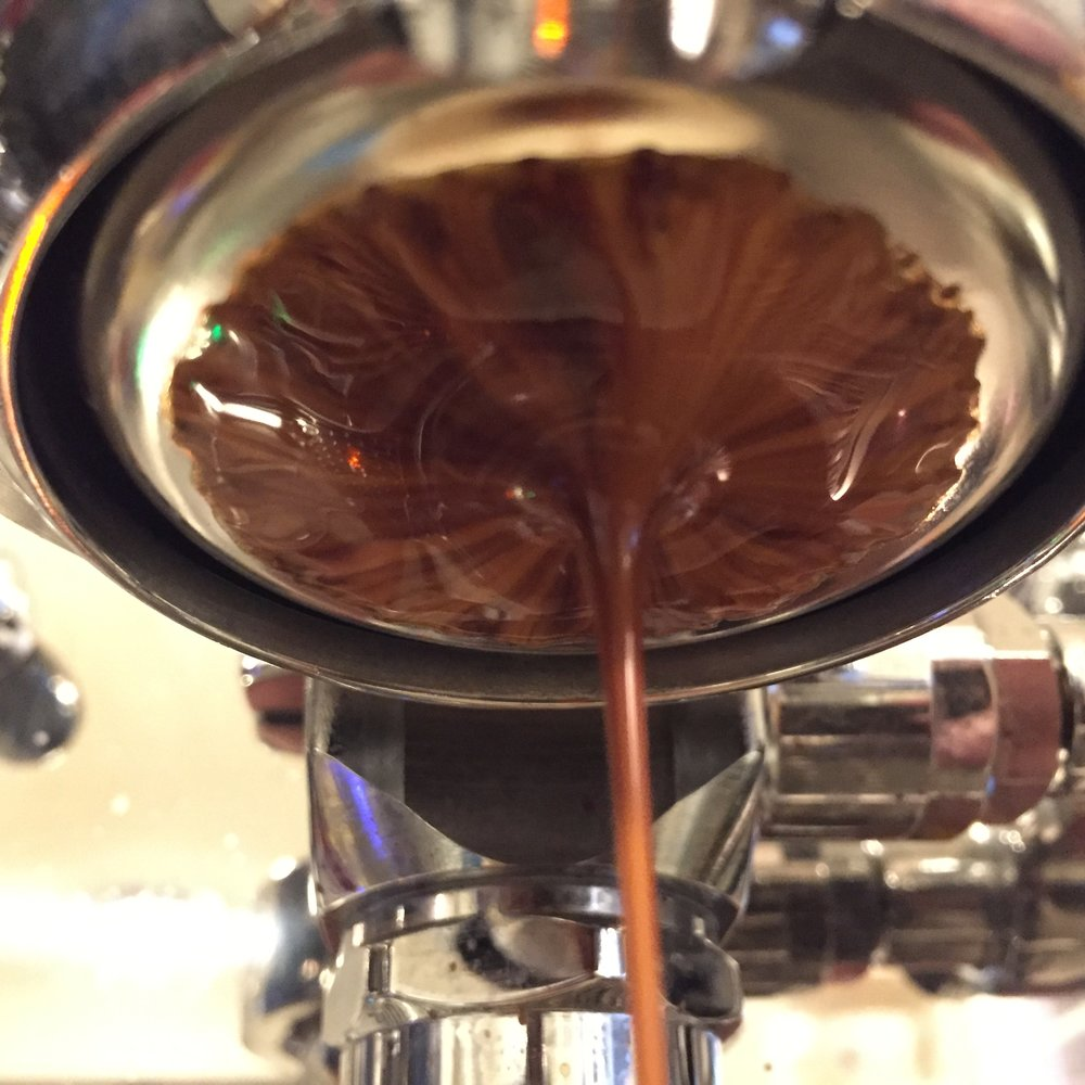 Fruit Bat pulling nice and tight in the IMS Precision Double Basket.