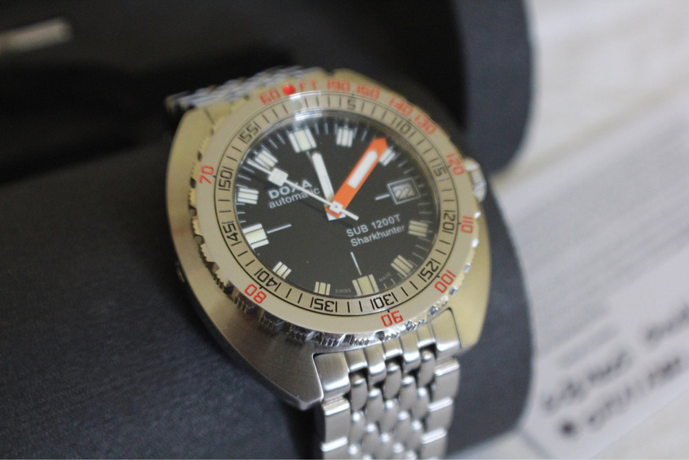 Minus the sapphire crystal and fully functional lume, this could have come out of the same era as the 300T above. Photo from WUS FS listing, click through for more details.