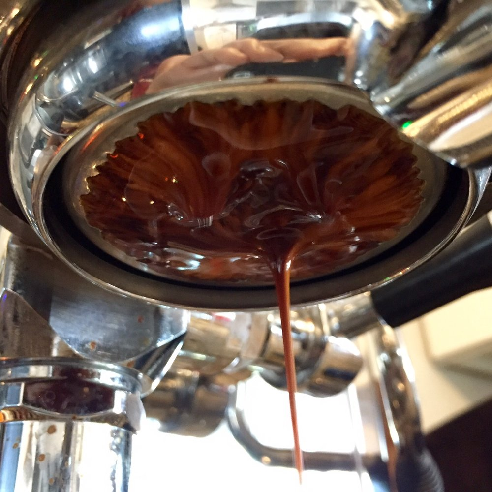 deep, bass heavy espresso for a single origin.