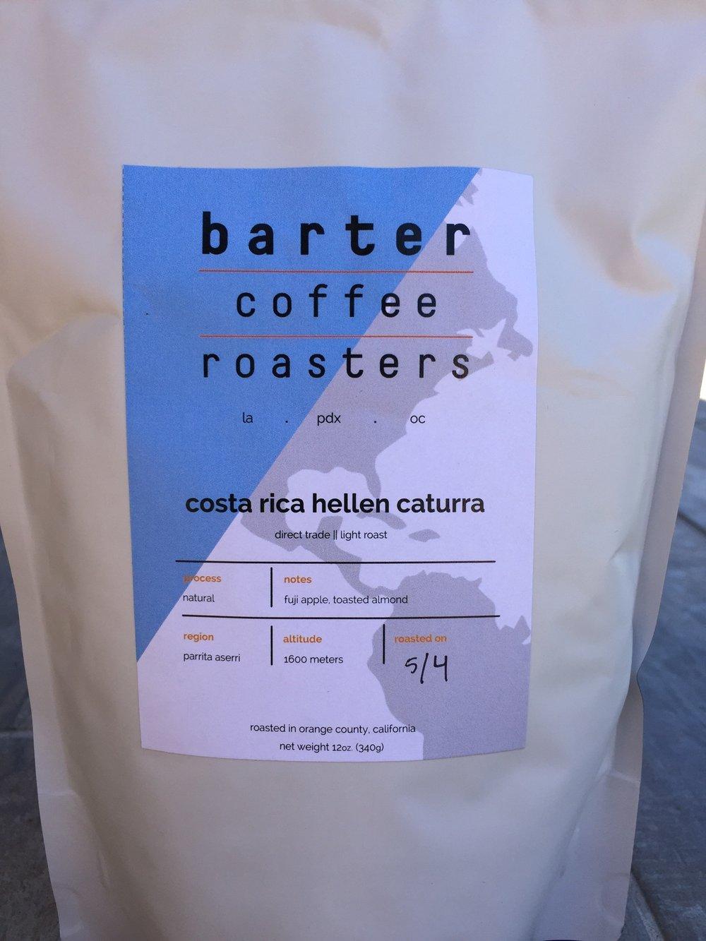 Barter Coffee Roasters Costa Rica