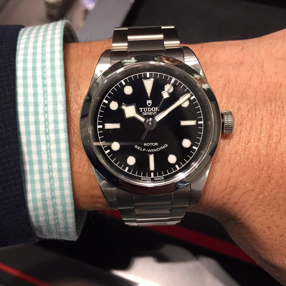 The Tudor BB36 is a nice example of versatile watch that could be worn day in and day out for decades to come.