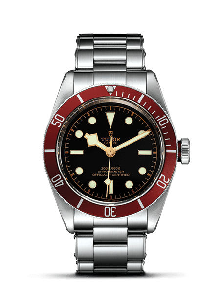 The Black Bay is your classic dive watch, providing a great alternative to the Rolex Submariner. I found it on Amazon for $3162.99 for the current version with the in-house movement and as low as $3000 and change for the previous model with an ETA 2824 calibre. Click through for link to sale.