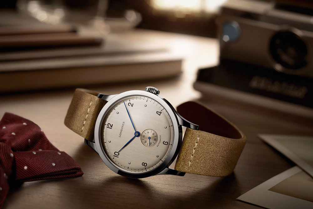 So clean and simple, a modern take on a vintage charmer. Photo from Longines, click through to learn more.