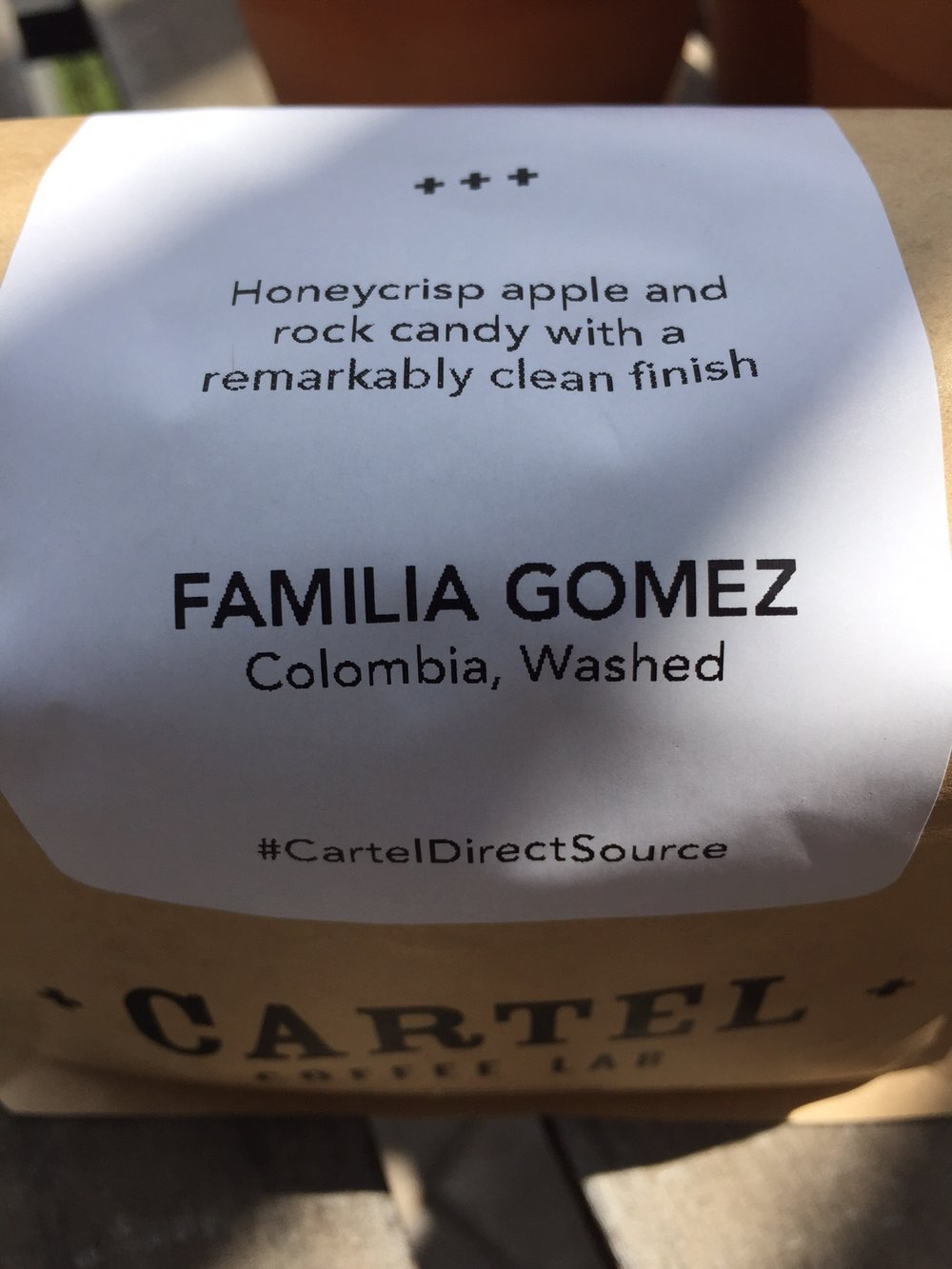Cartel Coffee Lab Familia Gomez