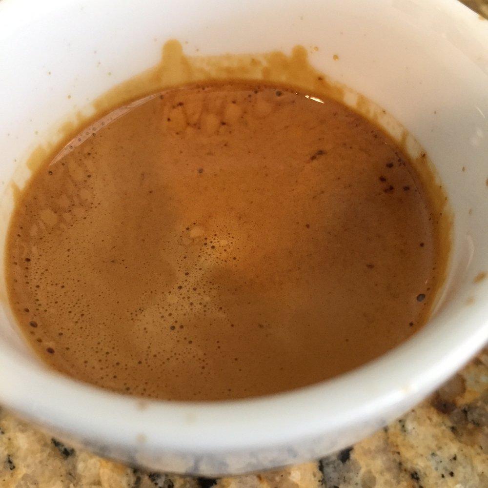 Like a third wave take on rich, classic espresso.
