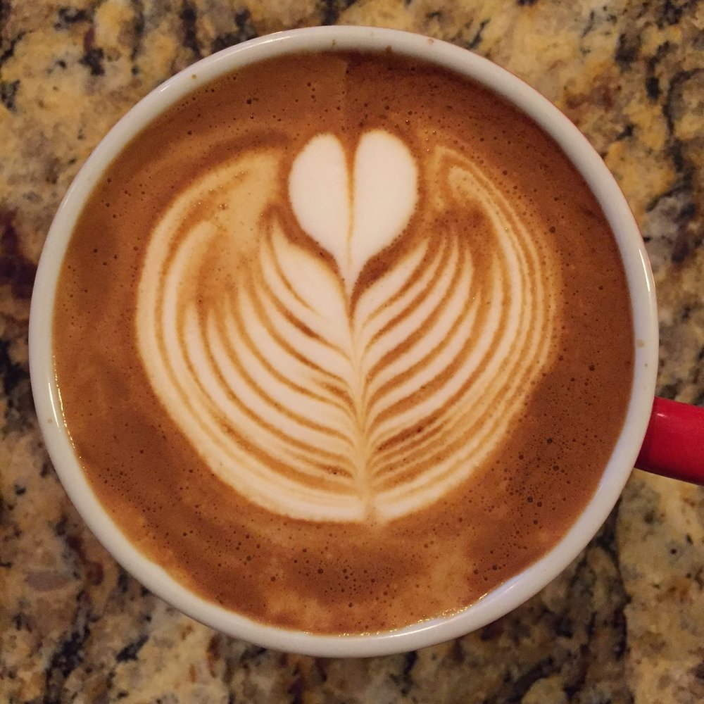 The coffee is very good in milk, but still interesting enough to work on its own.