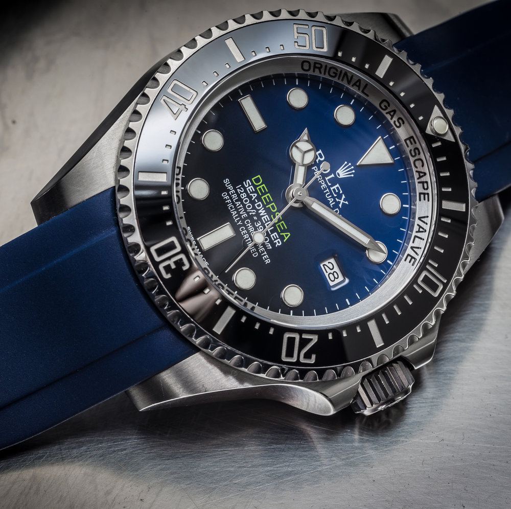 Deepsea Sea Dweller with Everest Bands Rubber Strap