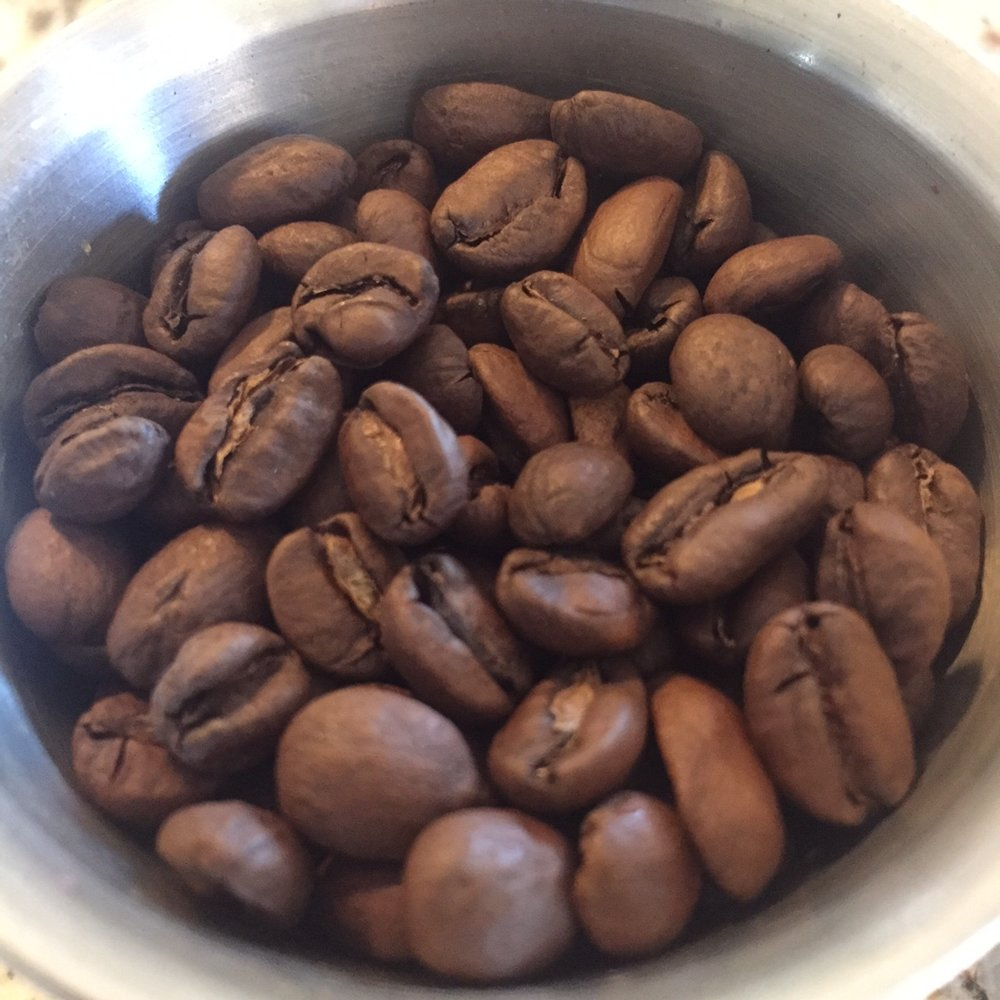 A nice developed (but not too dark) roast level