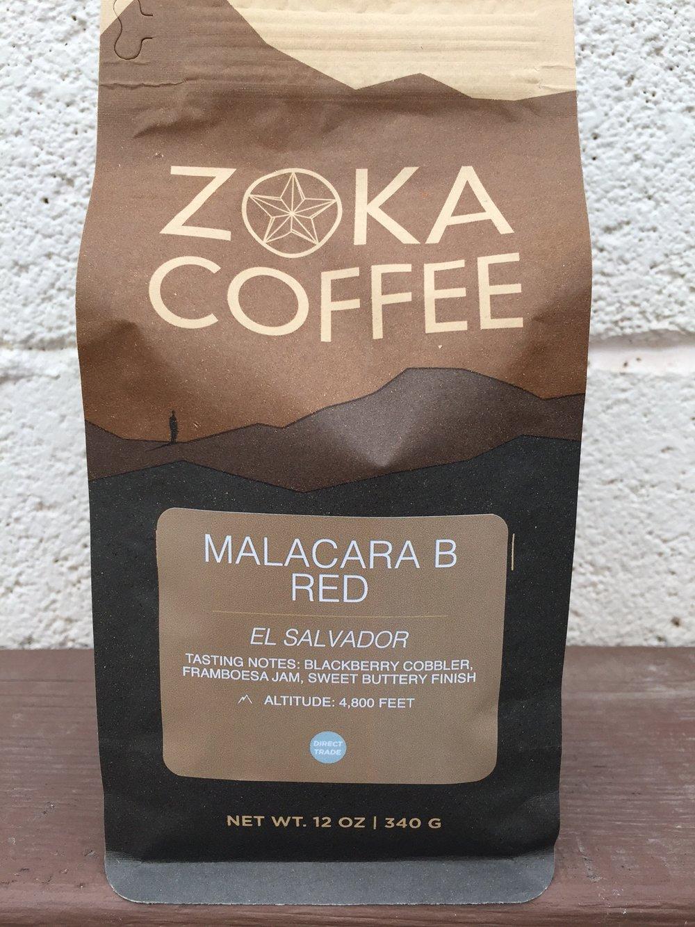 Zoka Coffee Malacara B El Salvador