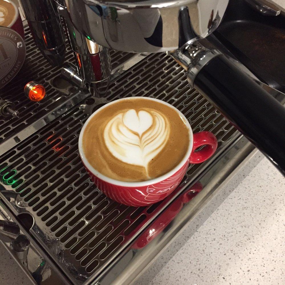 Makes for a nice creamy cappuccino.