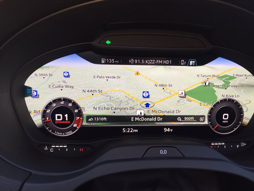 Audi RS3 Virtual cockpit maps.JPG