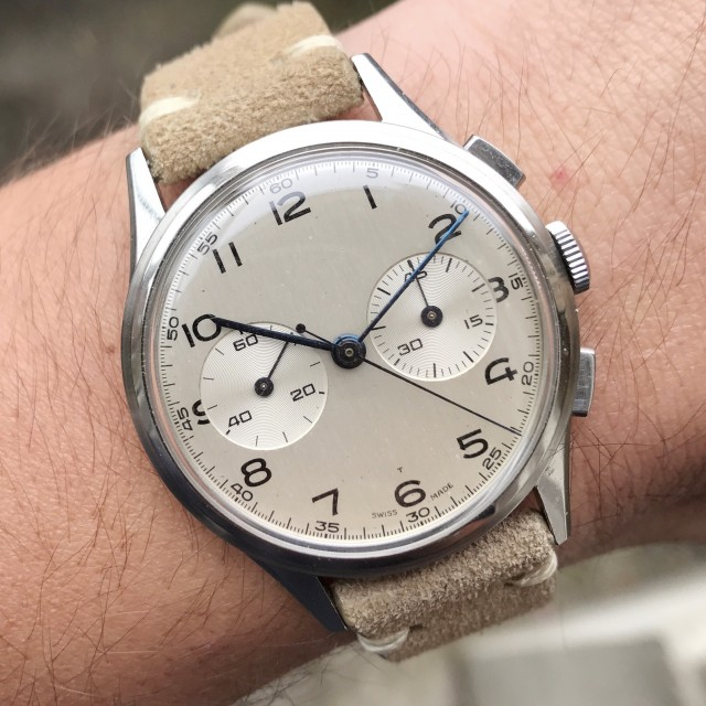 Great case, great dial, great movement, great watch.
