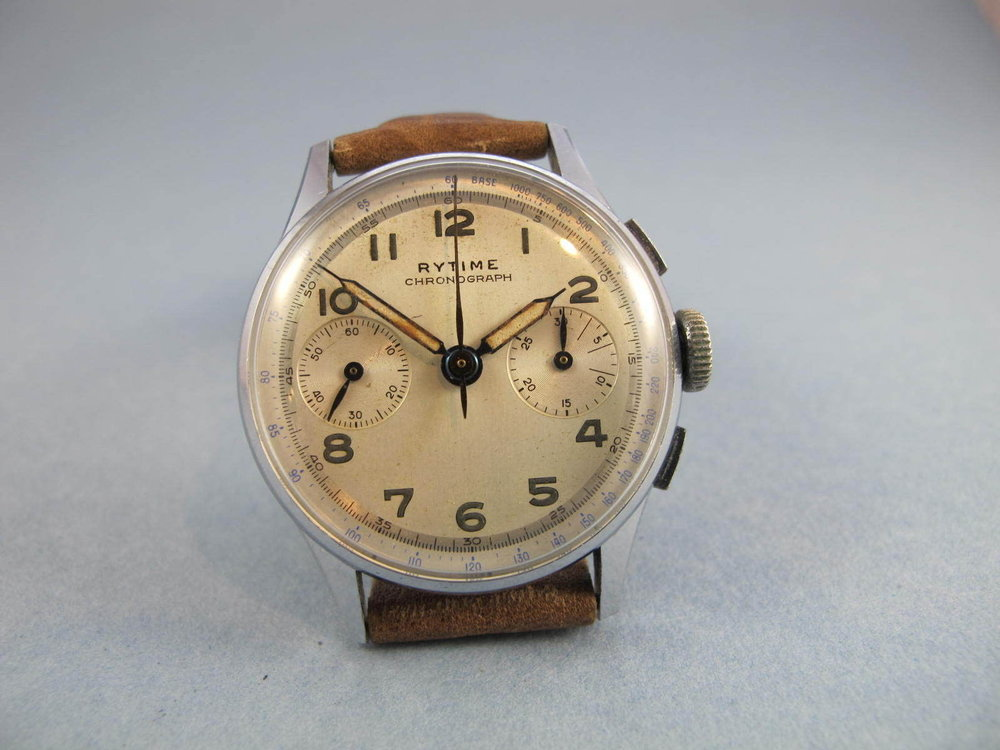 Maybe it's the radium burned dial, but this watch has that warm patina that makes me smile.