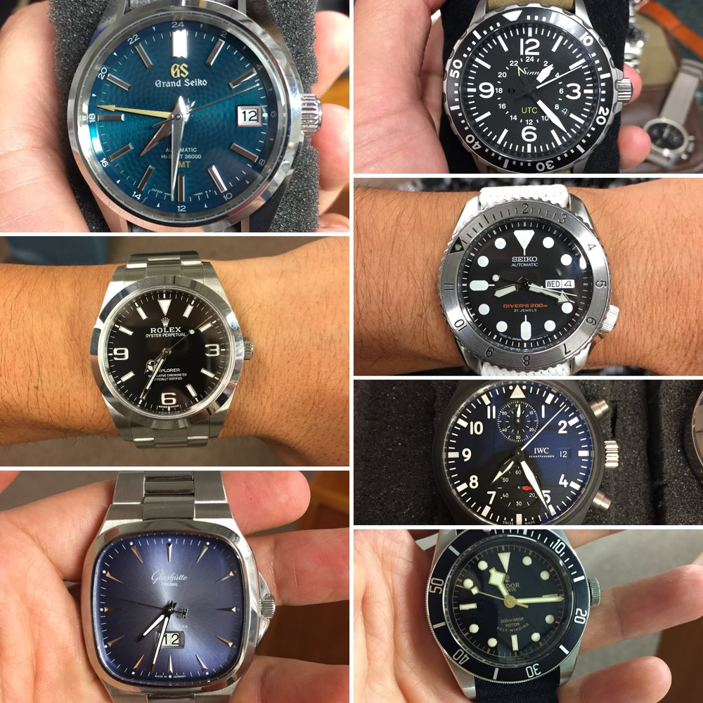 Some highlights found at a recent watch meetup in Arizona.