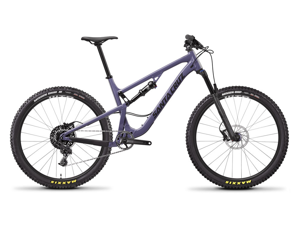 Stock photo from Santa Cruz of the Aluminum option.  Click through for all available build and price options.