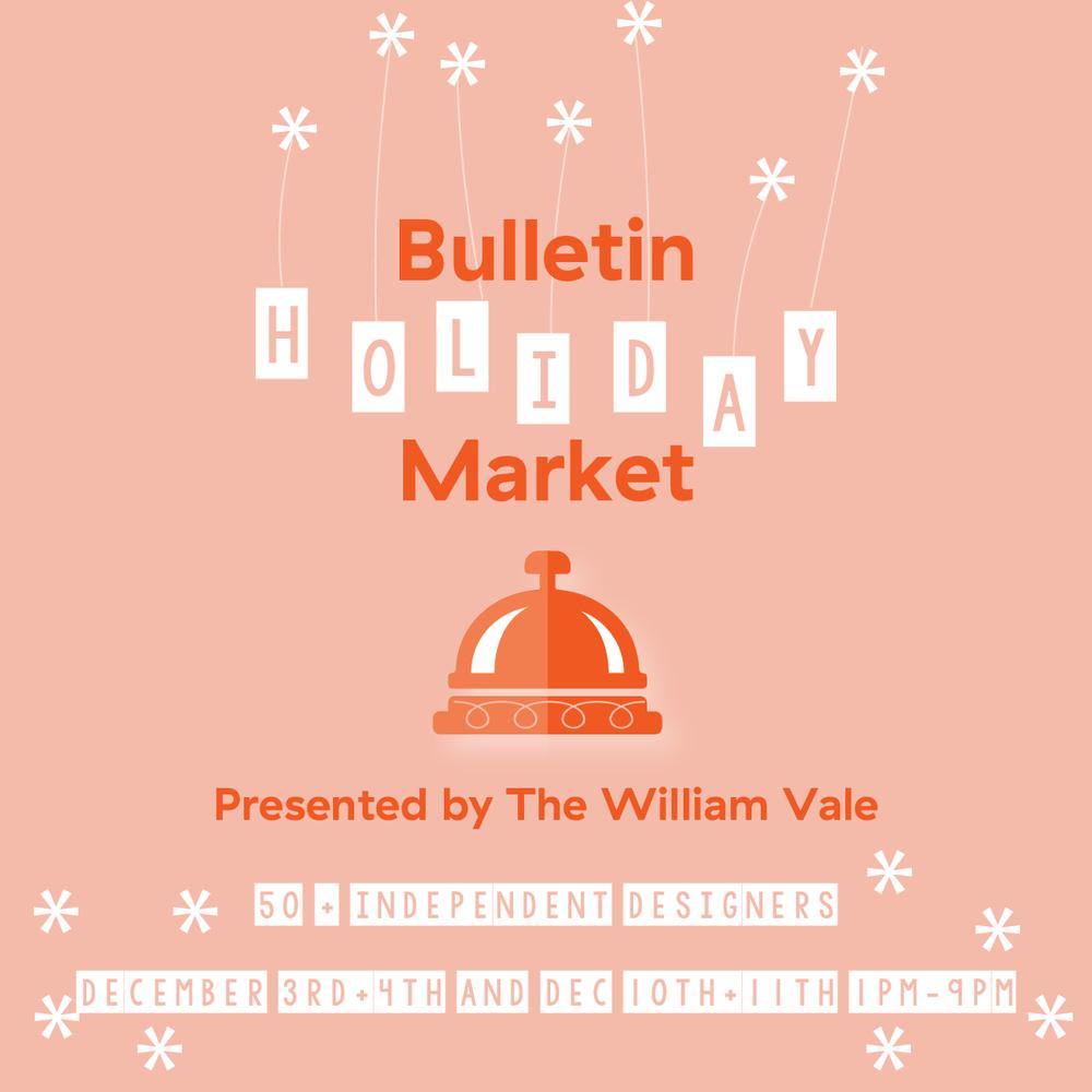 Bulletin Holiday Market