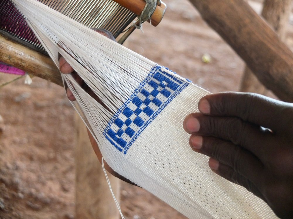 A strip of cloth from Waraniéné.