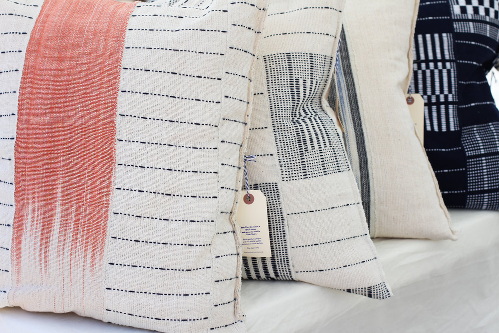 Five | Six Textiles Pillows