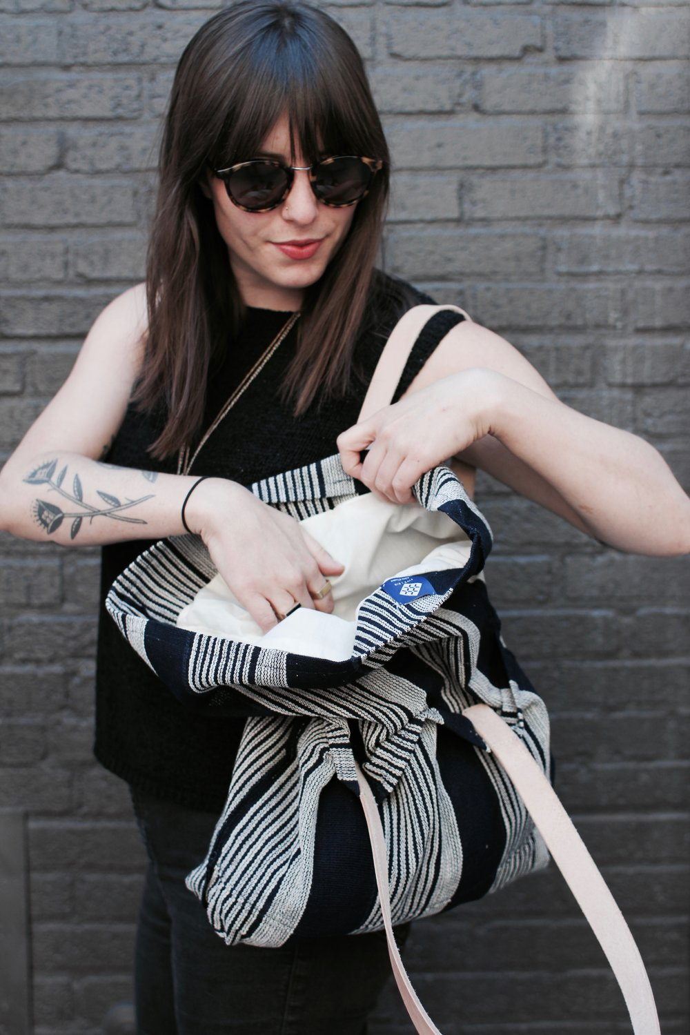 Anna and Five | Six Textiles  Everyday Tote
