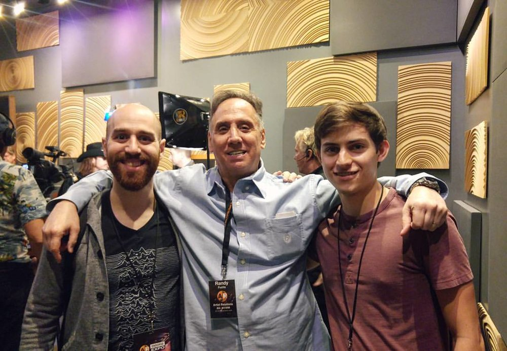 From left to right: GLASYS, Randy Fuchs, Nathan Alef