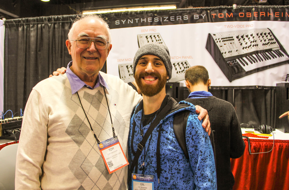 Tom Oberheim (Photo by Jeni Wren Stottrup)