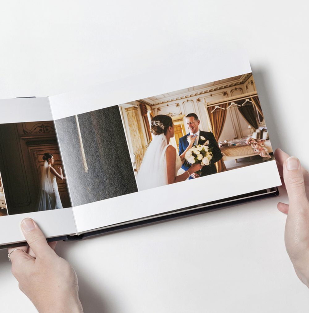 Paper Type:  Silver Halide photographic printing on premiere lustre paper with a thick page mount. Rich accurate vibrant color, tonal, delicately textured surface, smooth, timeless finish.