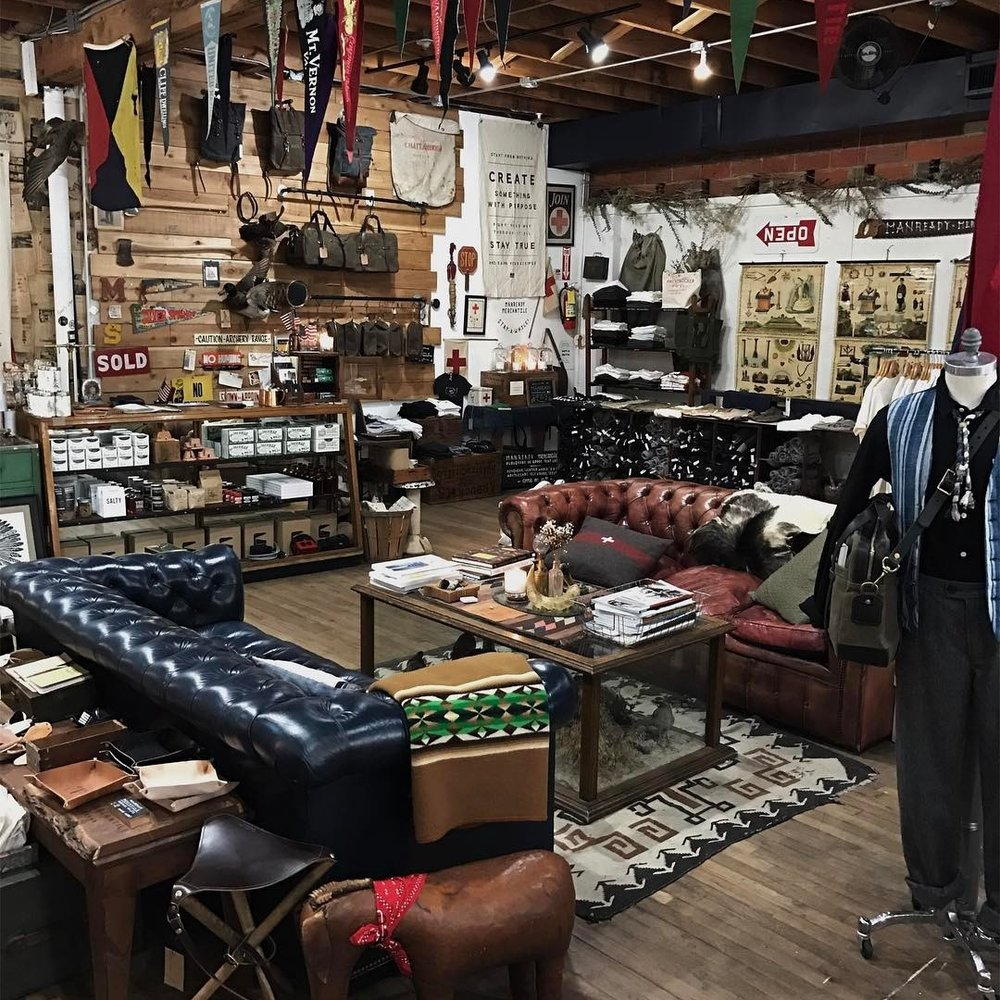 Native Color Stockists - Manready Mercantile Houston