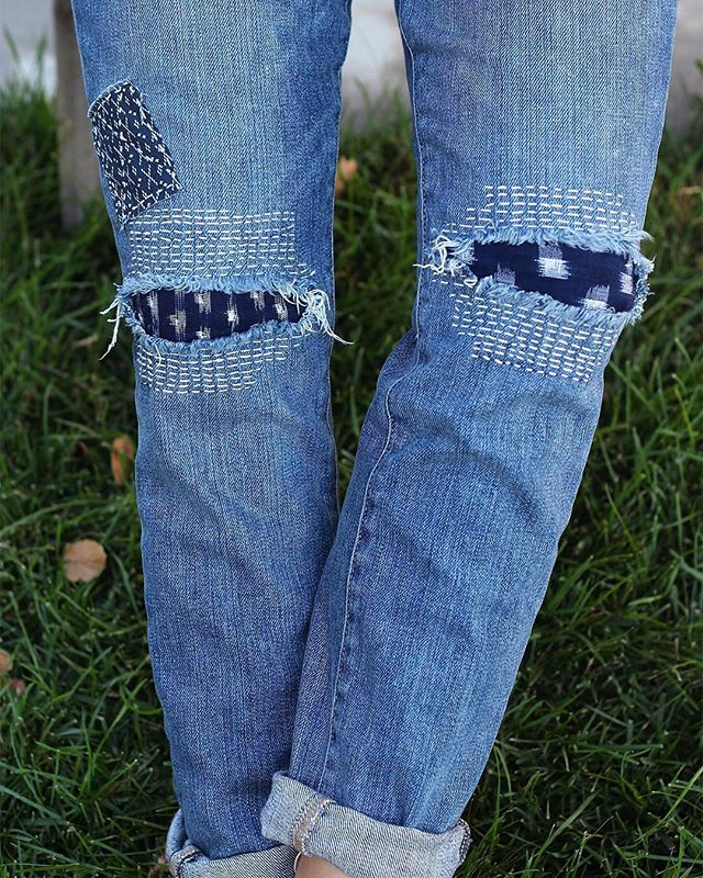 #WearNatural style 📷 @desertanddenim ⠀ ⠀⠀ • @levis Custom repaired shashiko-style jeans⠀ ⠀ Tag @WearNatural and #WearNatural to be featured⠀ .⠀⠀⠀ .⠀⠀⠀ .⠀⠀⠀ .⠀⠀⠀ .⠀⠀⠀ #AllNatural #NaturalClothing #Biodegradable #Sustainable #SustainableStyle #EcoFashion #GreenFashion #SustainableFashion #SustainableLiving #SustainablyChic #ZeroWaste #ZeroWasteLifestyle #ZeroWasteLiving #ZeroWasteFashion #ZeroWasteStyle #Shashiko #Boro #WellWorn #WornWear