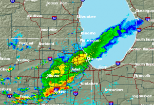 Chicago Weather Radar 9/10/2015