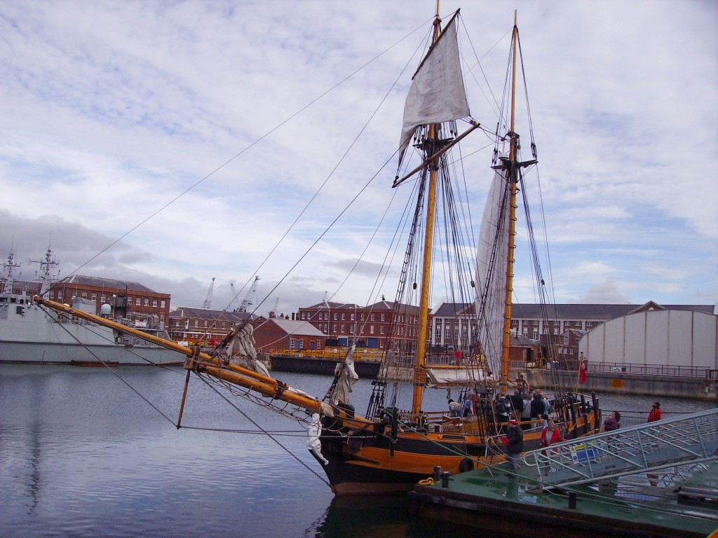 """HMS Pickle Replica"". Licensed under CC BY-SA 3.0 via Commons - https://commons.wikimedia.org/wiki/File:HMSPicklereplica.jpg#/media/File:HMSPicklereplica.jpg"