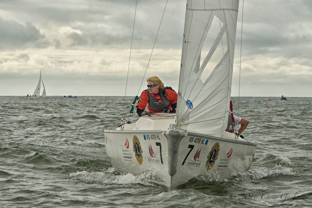 Great Britain surged to an early lead Friday, the first day of racing. Photo: Chris Garbacz/SEAS.