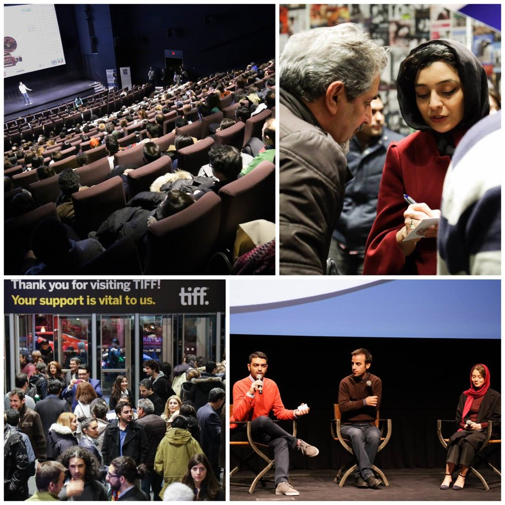 Scenes from CineIran 2015
