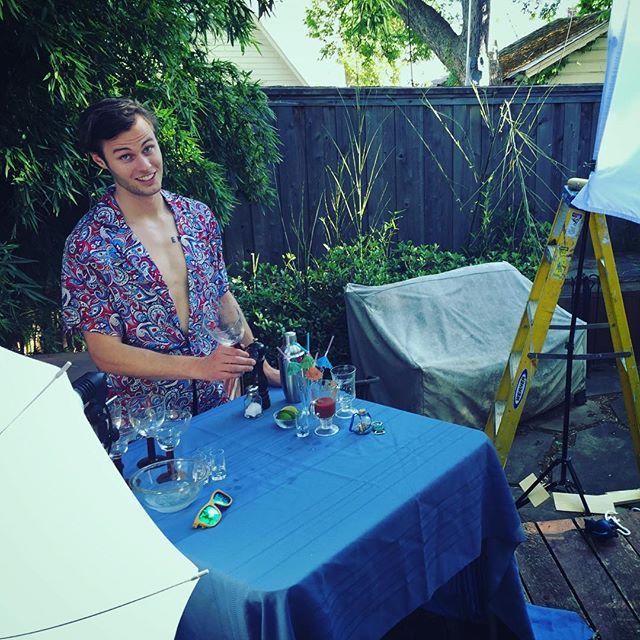 Sneak peek! Peacocktail recipe videos coming soon. #showyourfeathers #summer #fashion #party #cincodemayo #alcohol #cocktails