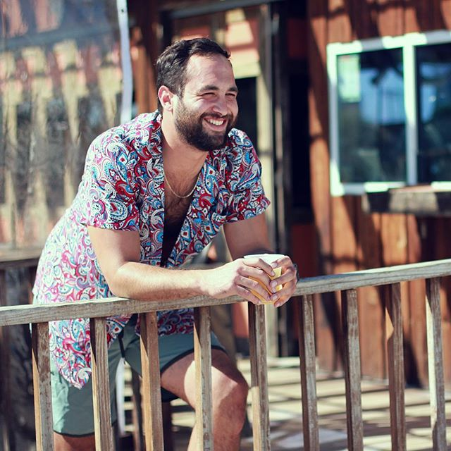 This summer, you too can be this manly. Pre-order our one-button shirt on Kickstarter now! www.bit.ly/PeacockSummer #showyourfeathers #cincodemayo #party #fashion #summer #poolparty #daydrinking #sun