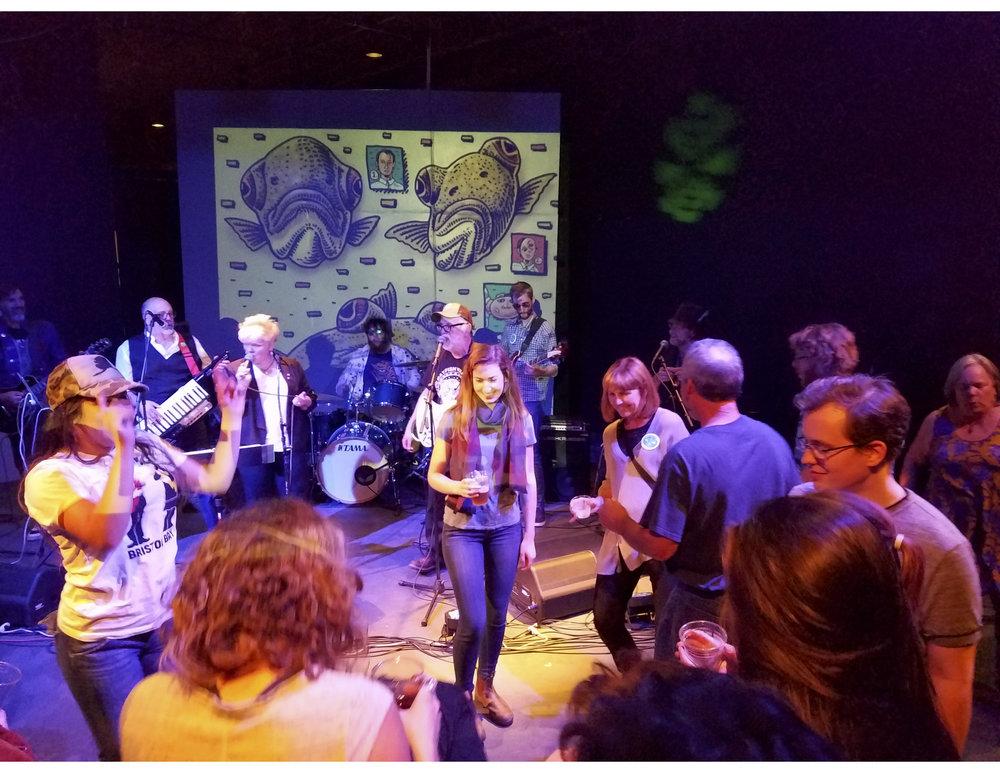 Ray Troll & the Ratfish Wranglers at the Sylvia Center