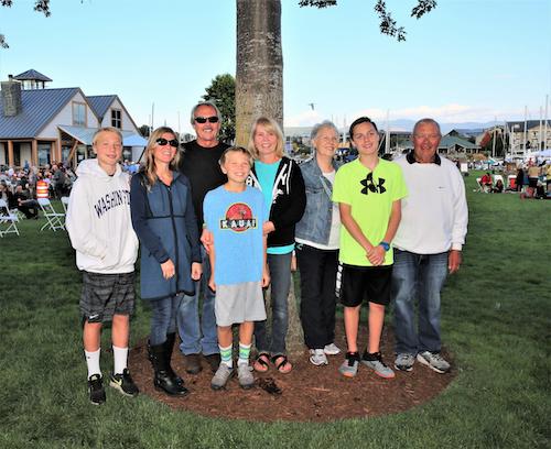 The Glenovich Family in 2017.