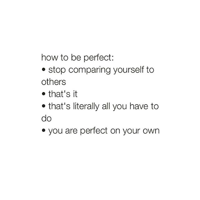 """In 2018 — remember that you're perfect in your own way. 😘 Self love doesn't have to be a chore or bother unless you let it. Love yourself a little more each day. Tell yourself the things you love about your mind, body, and soul. Be proud of yourself. Because no one does """"you"""" quite like you. ✨"""