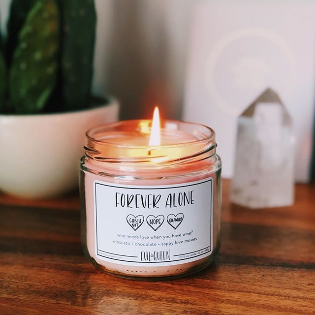 This fan favorite is making its comeback MONDAY! 💕💐🕯 grab a glass of wine, turn on Netflix, and light this candle for a perfect evening. Tag your single galz and let them know they need this candle 🤪💜