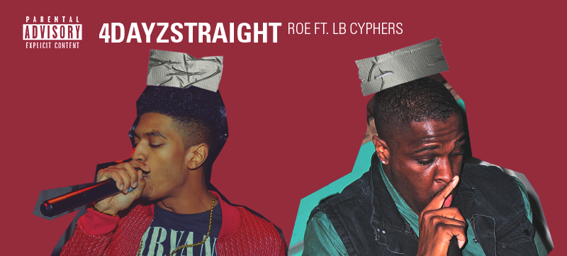 ROE teams up with long time friend and former OE music group to tackle '4DayzStraight' with vibrant drums provided by Omi Ashton. ROE and Ash have been locking in to prepare for new year full of music and fresh vibes. Enjoy this preview of what's to come.   Stream and download the new single  HERE .