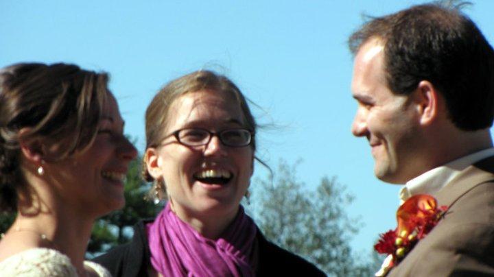 Nettie & Matteo's heartfelt wedding in Amherst, MA