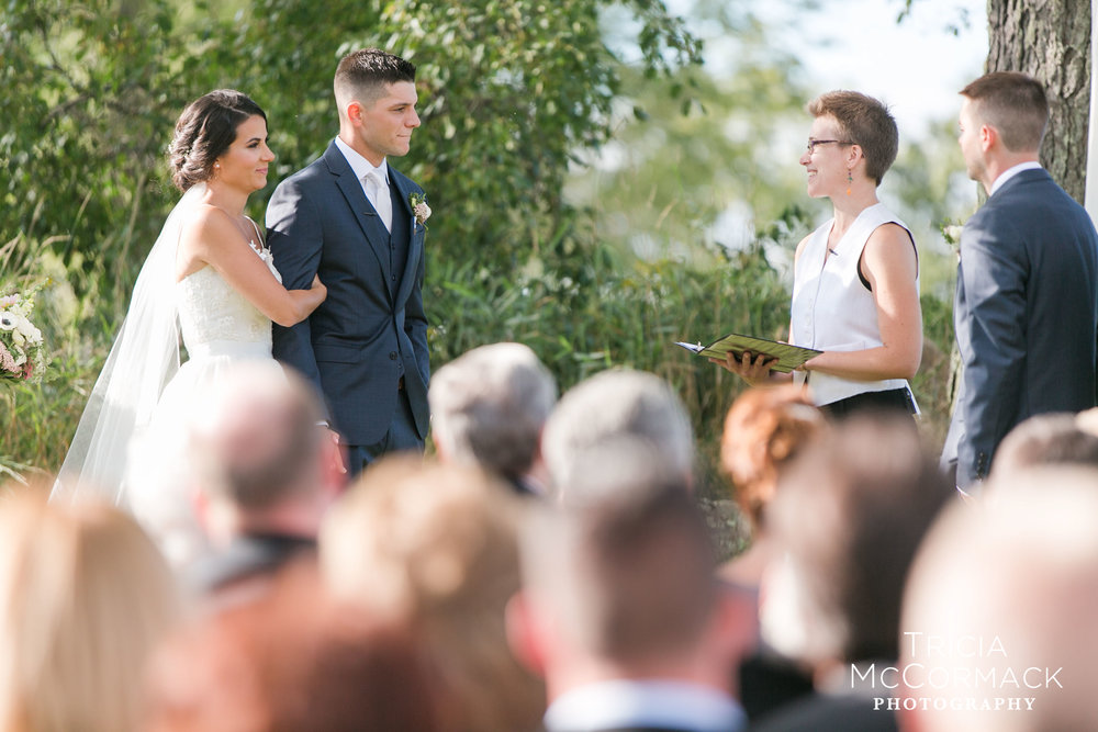 Melanie & Jay get married on a beautiful September day in the Berkshires