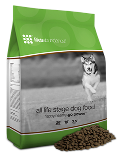 All Life Stage Dog Food (switch your puppy when they are 8-9 months old)