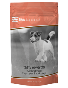Tasty Rewards Nutritional Treats for puppies & adult dogs