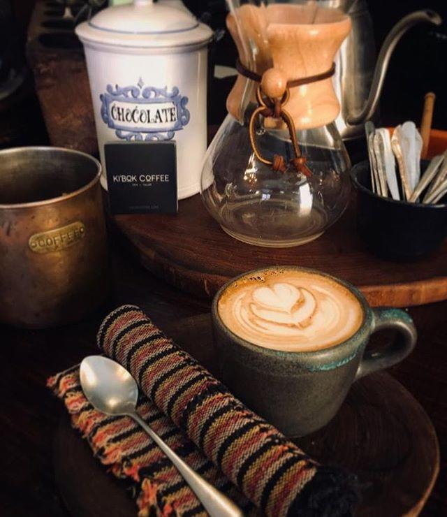 Enjoy a nice cappuccino at our café in San Miguel de Allende #kibok #sma p.c. @dess_r.quintero