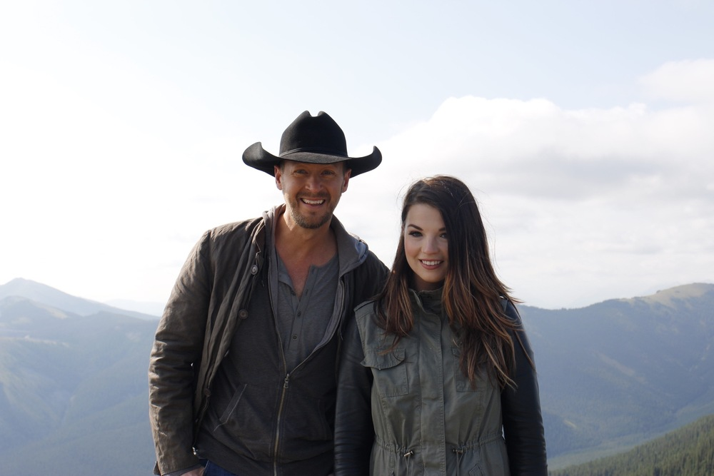 Paul Brandt and Jess Moskaluke