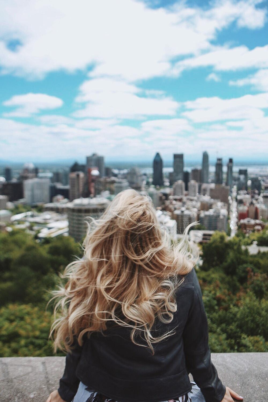 Overlooking Montreal.