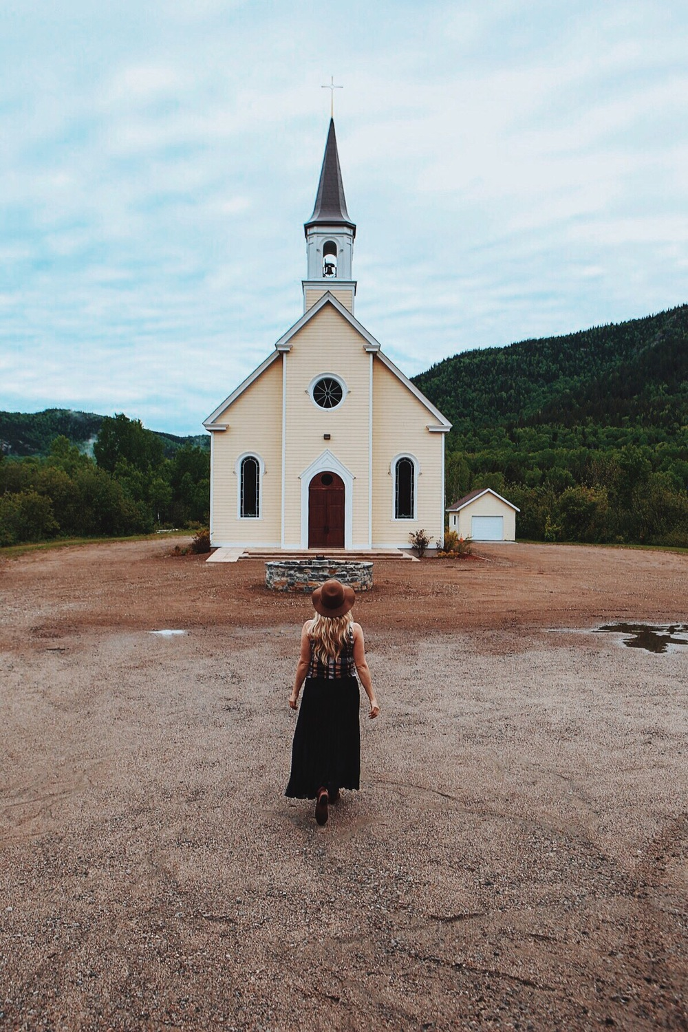 Churches in the countryside of Charlevoix