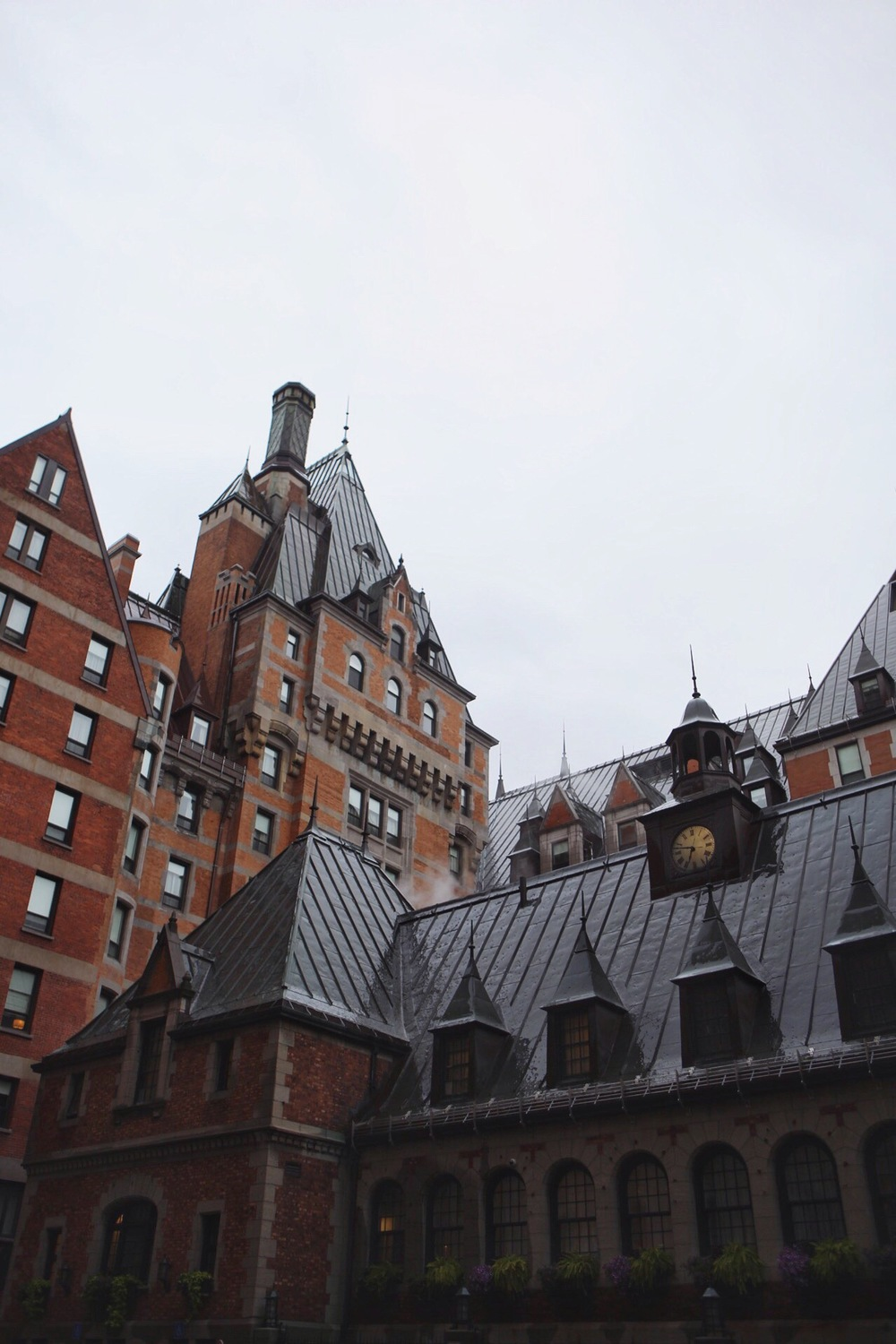 Chateaux Frontenac in Quebec.